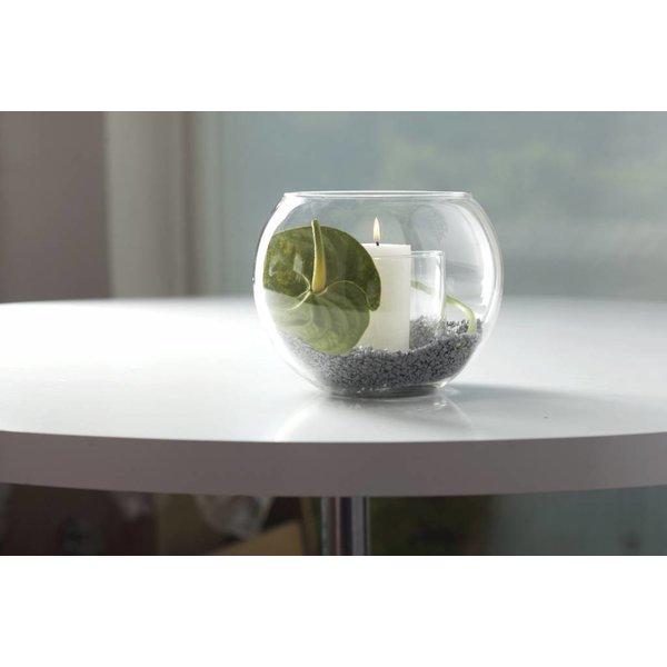 Rundes Vasenset Glas
