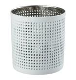Créton Maison Teelichthalter NORA silber/weiß, 2er Set