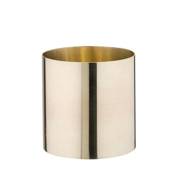 Messing Vase/Gefäß klein