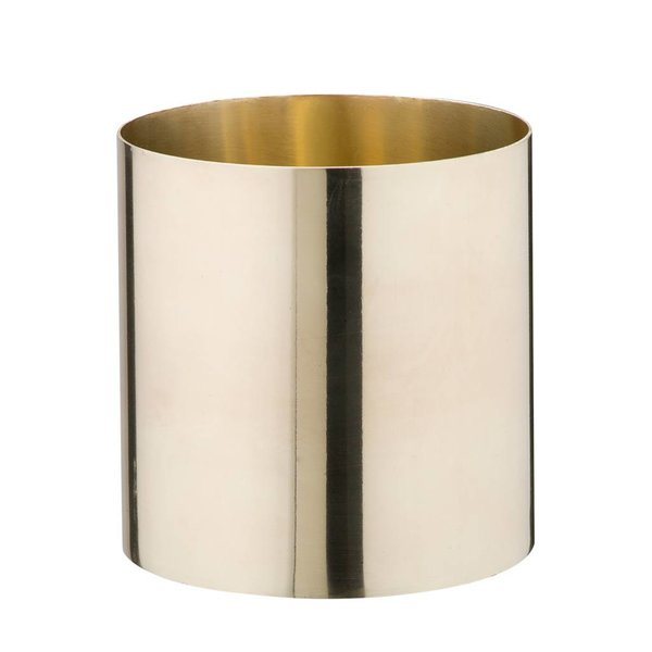 Messing Vase/Gefäß groß