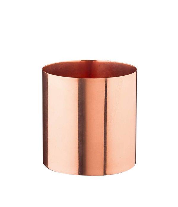 Créton Maison Kupfer Vase/Gefäß klein