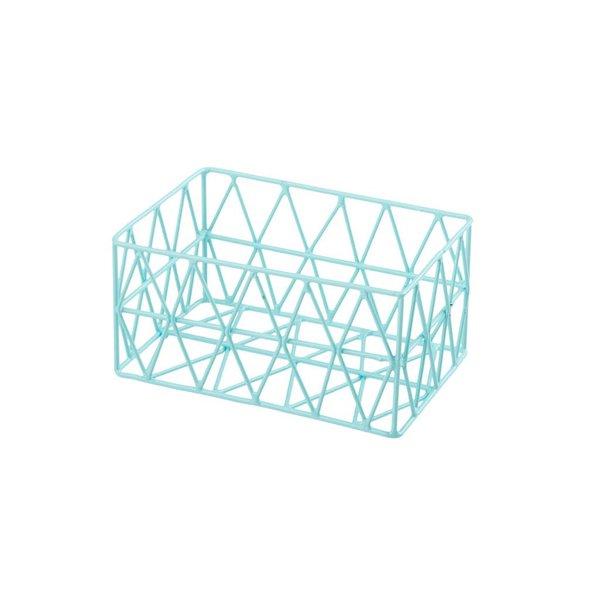 Triangle Metall Basket Korb hellblau XS