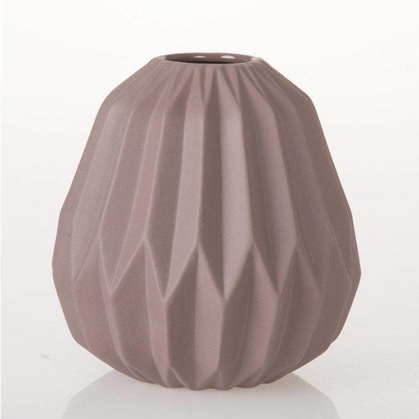 Vase Origami - Altrosa