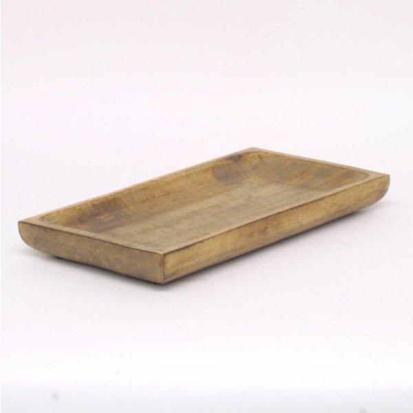 Holzplatte - Rechteckig - 46 cm