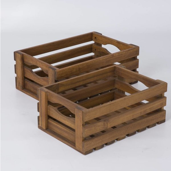 Box / Kasten - 2'er Set - Holz