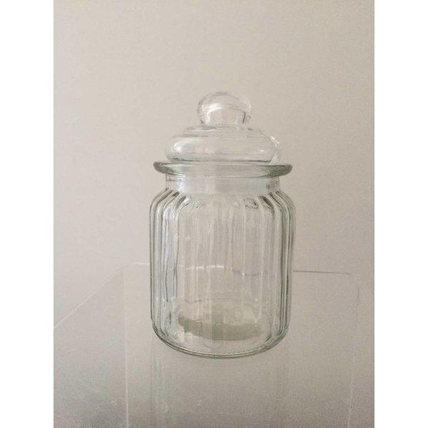 Vorratsglas 1/4 l klar