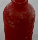 "Vase in  frosted Optik, groß  ""berry"""