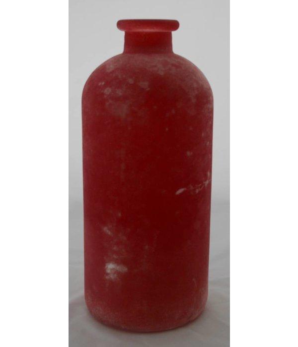 """Pyntshop Vase in  frosted Optik, groß  """"berry"""""""