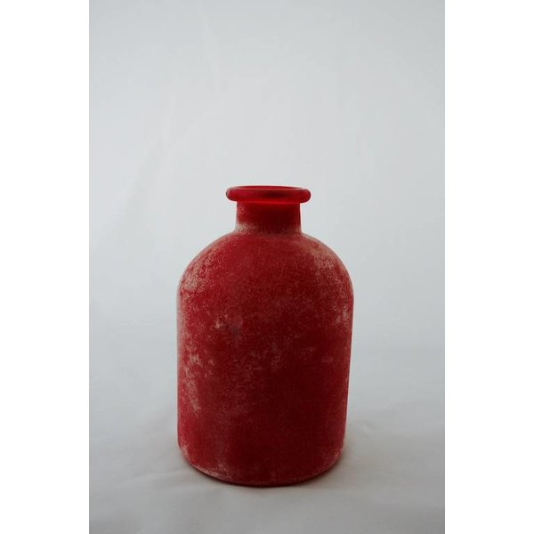 "Vase in  frosted Optik, klein ""berry"""