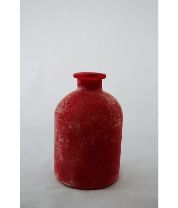 "Vase in  frosted Optik, klein  ""berry"""