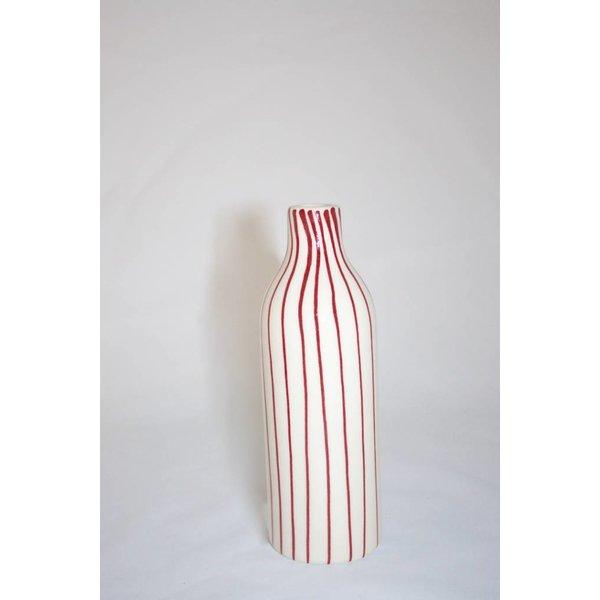 "Dekovase ""Red-Lines"" 18 cm"