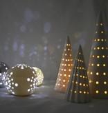 Bahne Kugel/ Ball aus Keramik mit LED Beleuchtung -klein