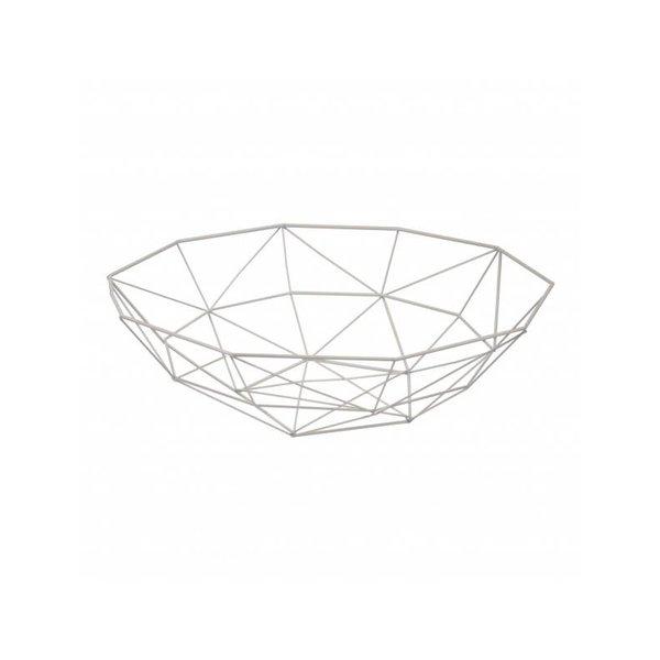 Korb/Schale weiß 37,5 cm