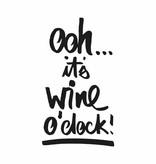 """ppd Servietten mit Sprüchen ooh...it´s wine o´clock """""""