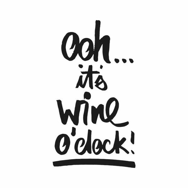 """Servietten mit Sprüchen """"wine o´clock"""""""