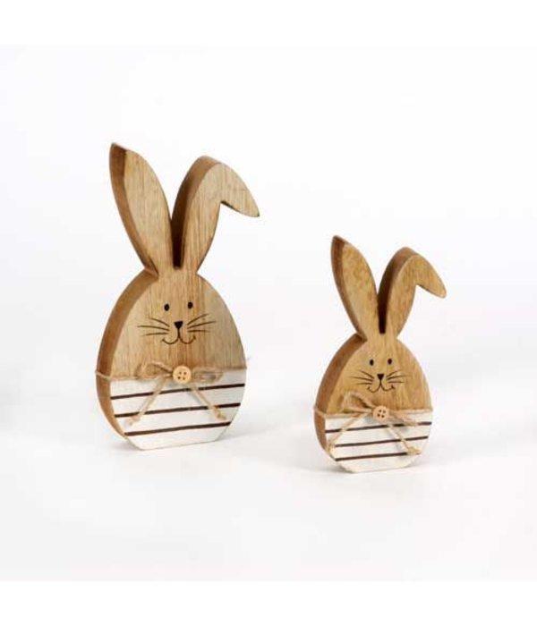 Pyntshop Hase mit Knickohr klein 14 cm aus Holz