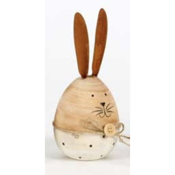 Hase/ Eierhase  12 cm aus Holz