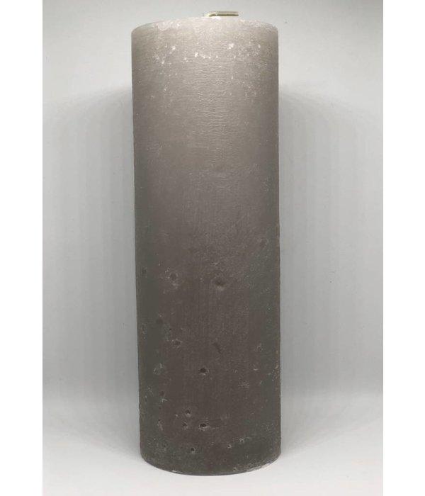 Pyntshop Kerze smokey grey, Rustik Lys 70x200