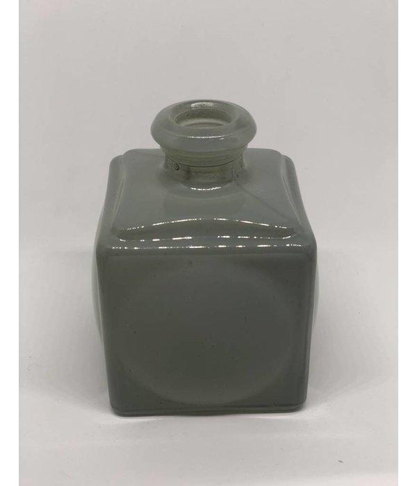 Vase Glas grau/blau