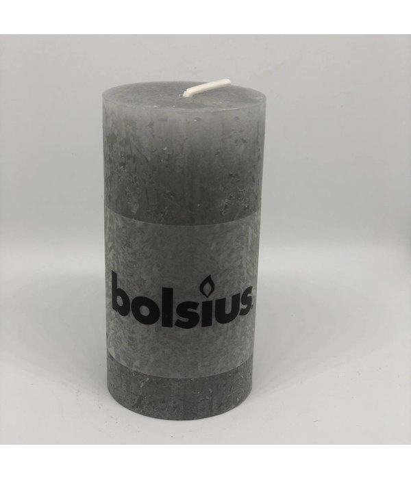 Bolsius Kerze light grey  hoch