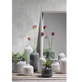 KJ Collection Vase Dolomitweiß/creme hoch