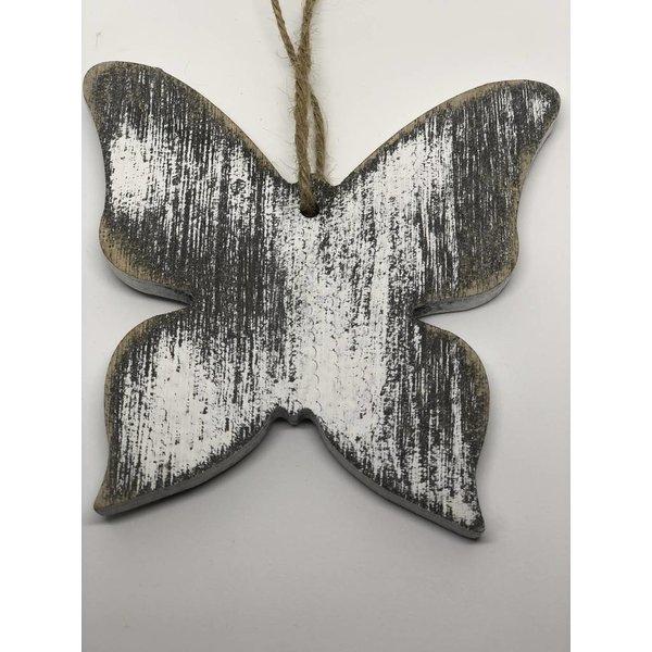 Schmetterling hängend mittel