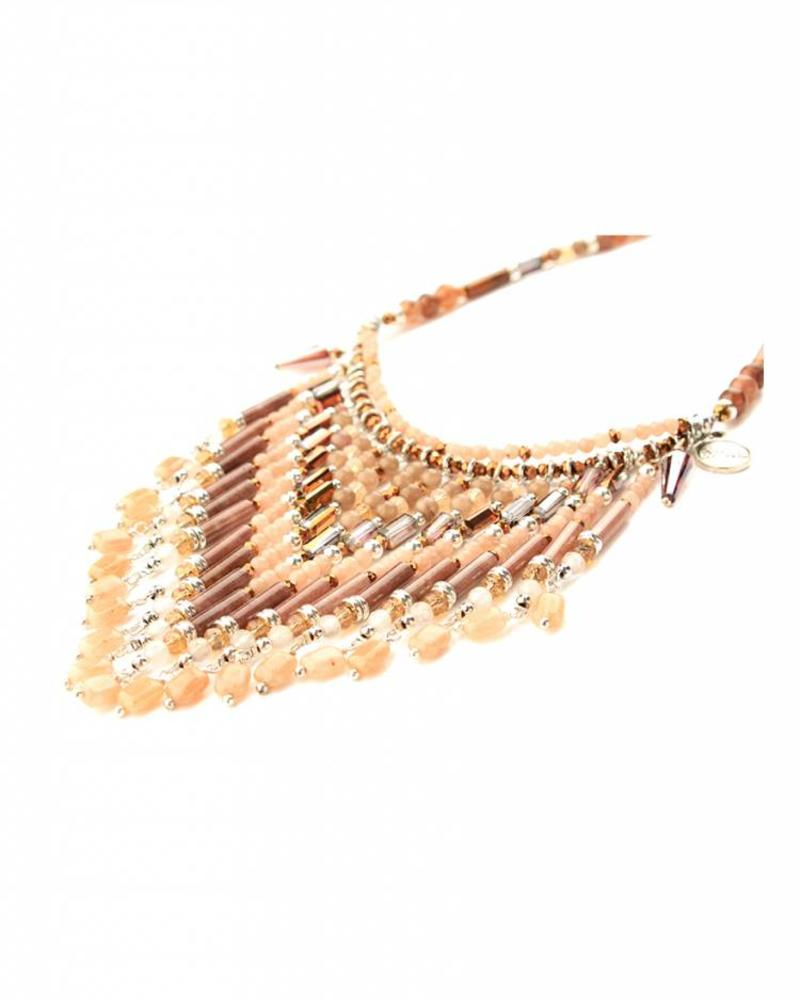 Collier etnic chic