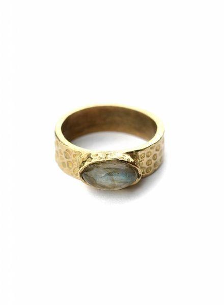 exoal labradorite Ring
