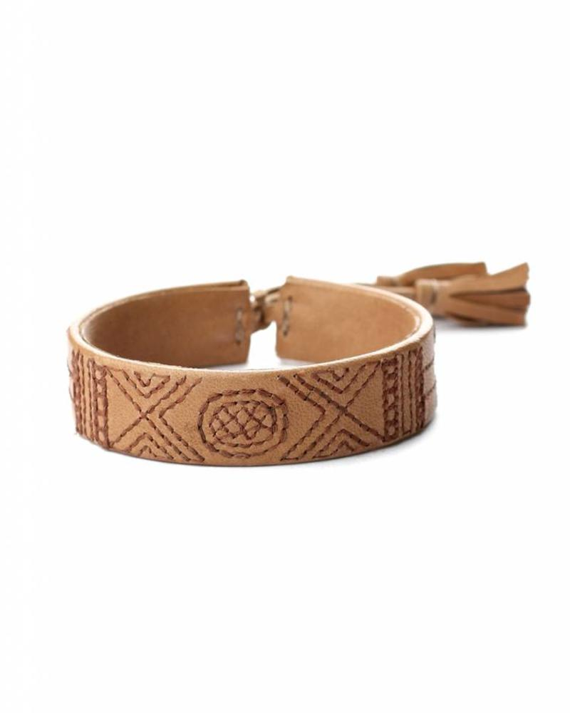 Handmade Nappa leather Bangel