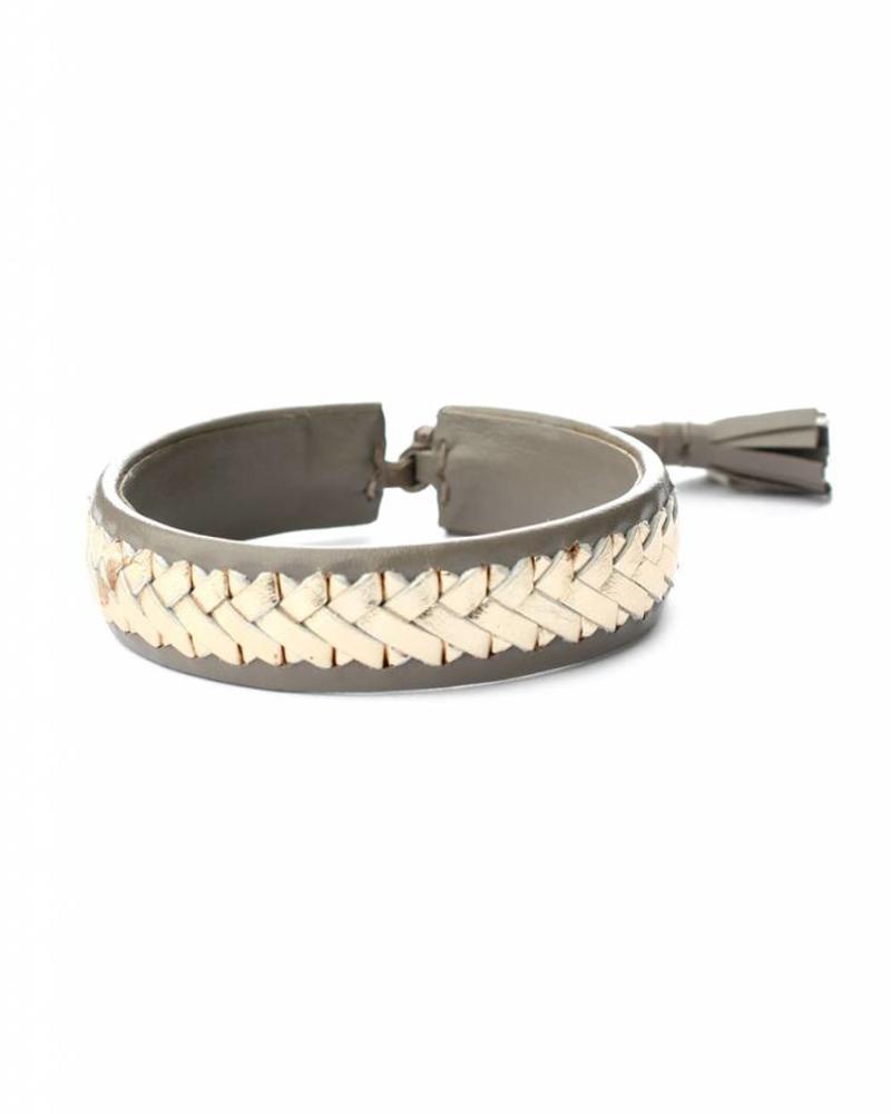 exoal Nappa leder armband