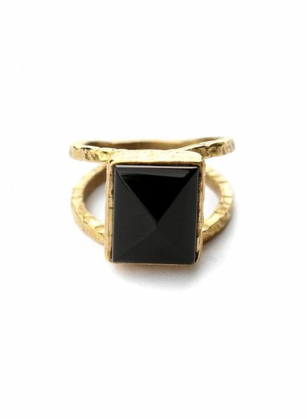exoal Black Onyx ring