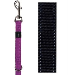 Rogz Rogz for Dogz Snake Multipurpose looplijn zwart 16mm x 1,6mtr