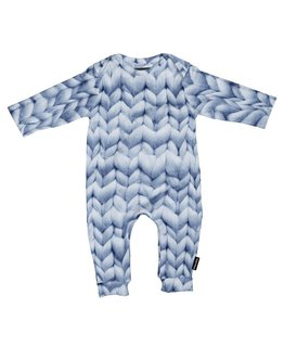 Snurk Snurk Twirre Blue Play Suit