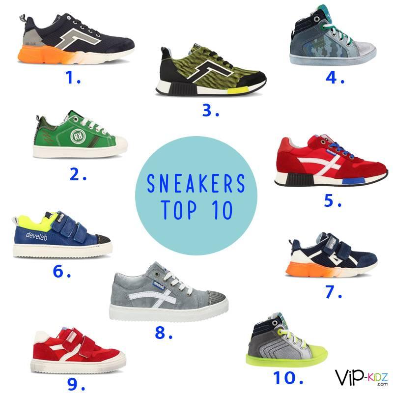 Top 10 zomer sneakers voor jongens