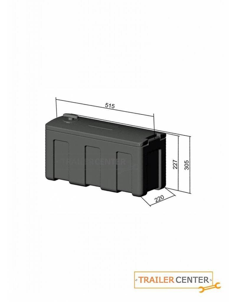 al ko staubox f r pkw anh nger abschlie bar al ko trailer center discount. Black Bedroom Furniture Sets. Home Design Ideas