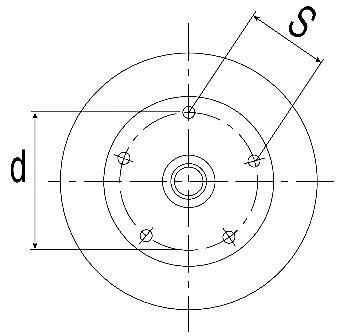 Radanschluss 112x5