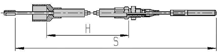 alko cavi bowden agganciabili con filettatura M8