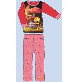 MAYA DE BIJ: pyjama Maya de bij Studio100 (lange mouwen - roze)