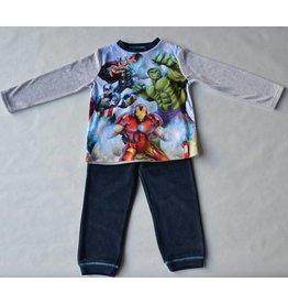 THE AVENGERS : velour pyjama Marvel The Avengers (lange mouwen - grijs)