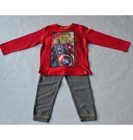 THE AVENGERS : pyjama Marvel The Avengers (lange mouwen - rood)