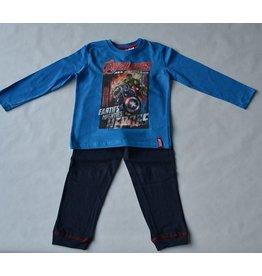 THE AVENGERS : pyjama Marvel The Avengers (lange mouwen - blauw)