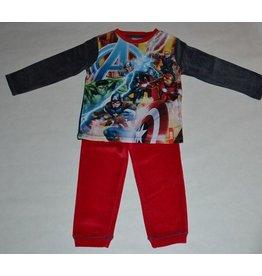 THE AVENGERS : velour pyjama Marvel The Avengers (lange mouwen - donkergrijs)