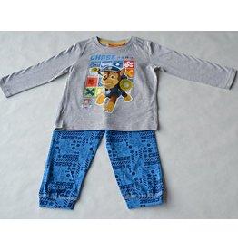 PAW PATROL: pyjama Paw Patrol (lange mouwen - grijs/blauw)