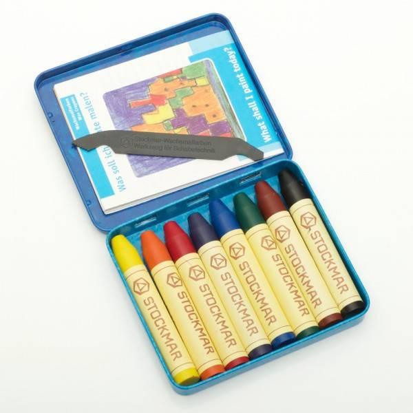 Stockmar Stockmar Bijenwas kleurstiften