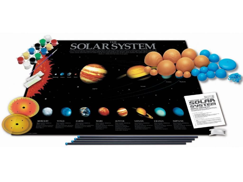 4M 4M Zonnestelsel Planetenmobile