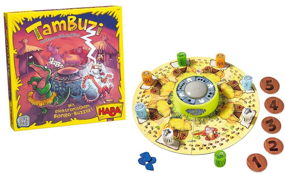 HABA Haba Tambuzi - Het spel met de elektronische buzzer!