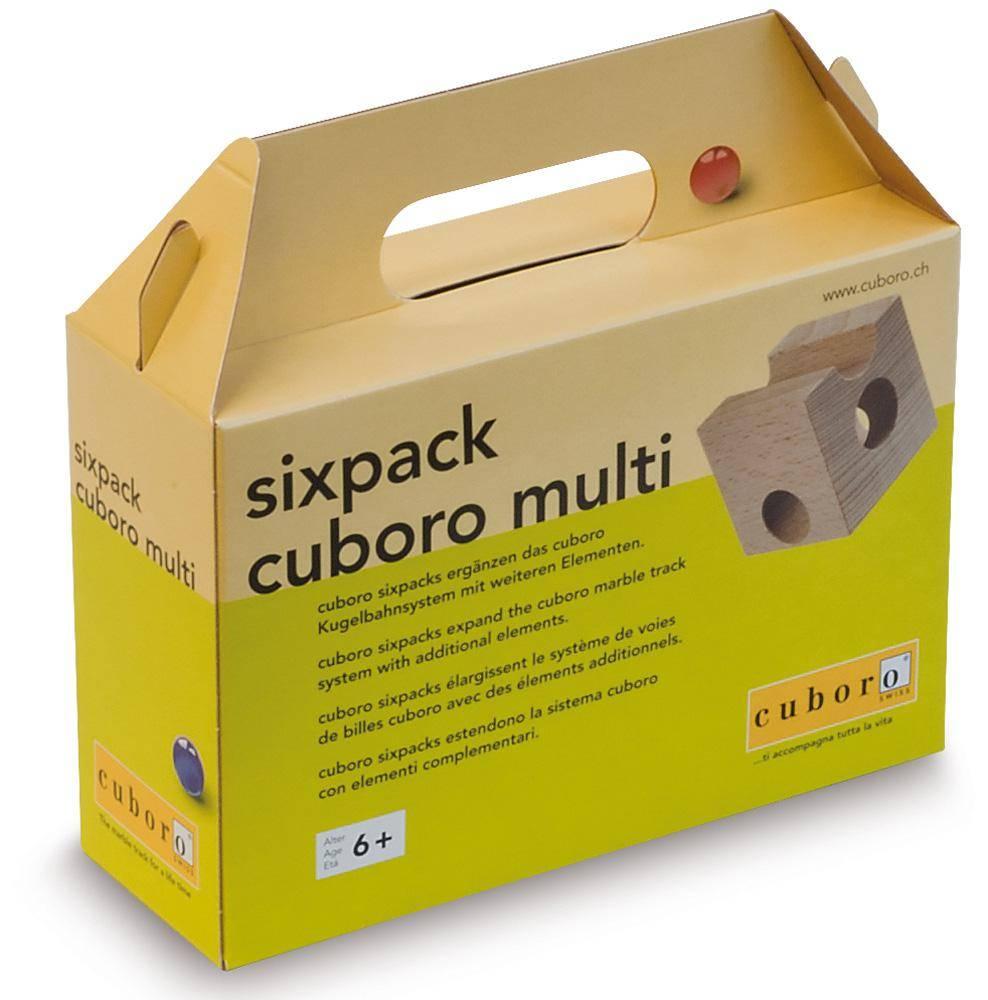 Cuboro Cuboro aanvulset Sixpack Multi
