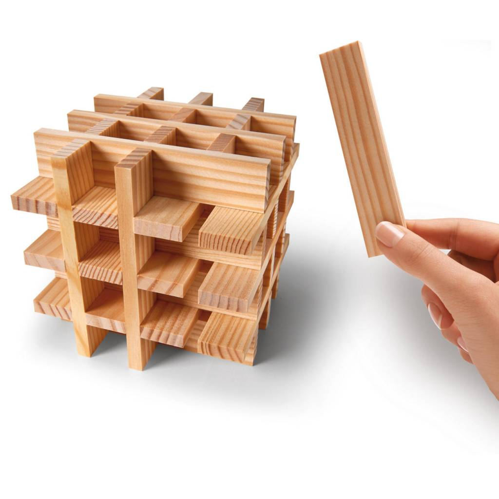 Kapla speelgoed Kapla Basis Doos - 200 stuks