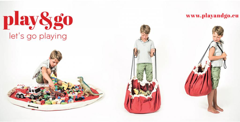 Play & Go Play & Go - Speelmat en Opbergzak - Football