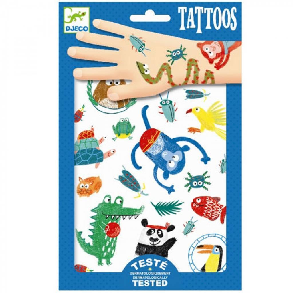 Djeco Djeco Tatoeages - Snoeten